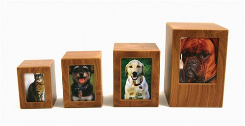 Photo Pet Urn Handcrafted of MDF