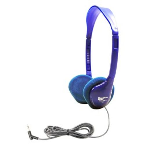 HamiltonBuhl Kids On-Ear Blue Stereo Headphone