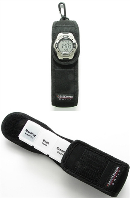 Extra-Large Pill Holster with Timer