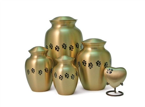 Handcrafted High Quality Brass Pet Urn 1