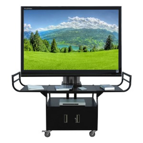 "HamiltonBuhl Metal Cart - Holds Up to 80"" Flat Panel TV"
