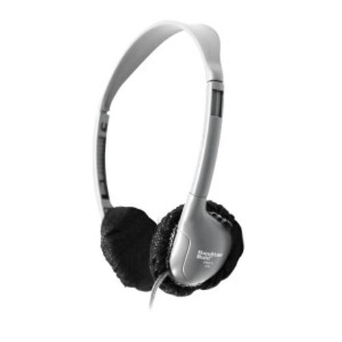 "HamiltonBuhl Disposable Ear Cushion Covers, Black, 2.5"" Personal,  Master Carton 12 boxes"