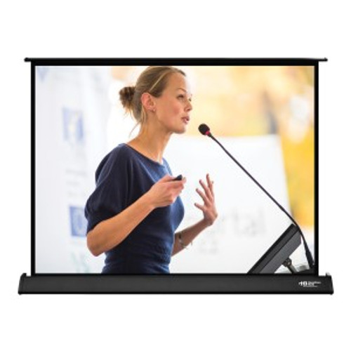 """HamiltonBuhl 40"""" Diag. (24x32) Tabletop Projector Screen, Video Format, Matte White Fabric"""