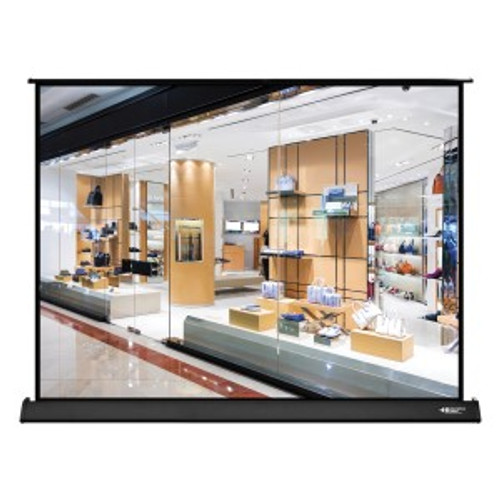 "HamiltonBuhl 50"" Diag. (30x40) Tabletop Projector Screen, Video Format, Matte White Fabric"