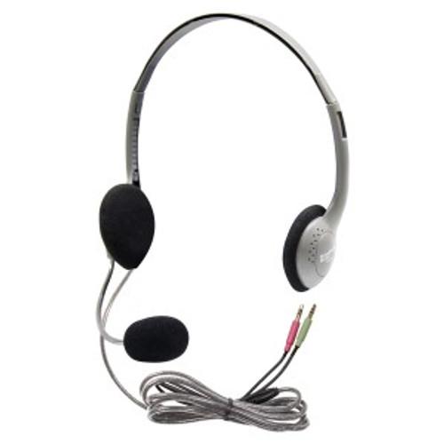 HamiltonBuhl Personal Multimedia Headset with Gooseneck Microphone