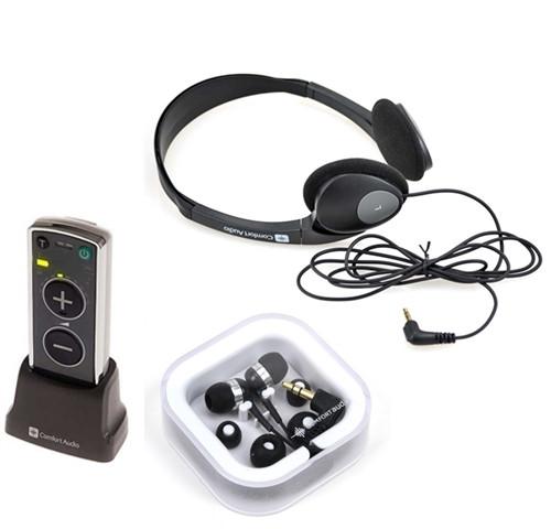 Comfort Audio Duett Personal Sound Amplifier - Includes Headphones and Earphones