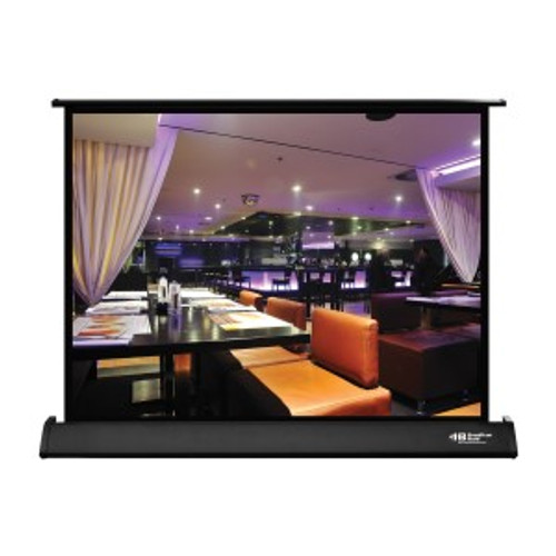 """HamiltonBuhl 30"""" Diag. (18x24) Tabletop Projector Screen, Video Format, Matte White Fabric"""