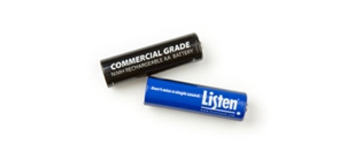 Rechargeable AA NiMH Batteries (Qty 2)