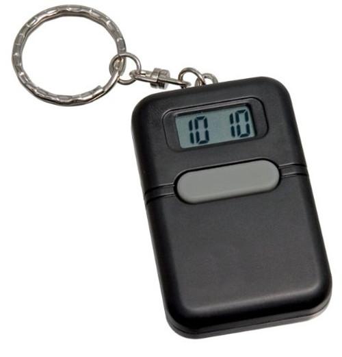 LIBERTY Low Vision Black Talking Keychain Alarm Clock