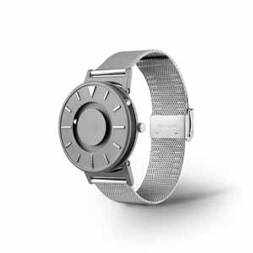Bradley Tactile Watch With Mesh Strap