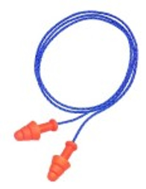 Howard Leight Smart Fit Earplugs - Uncorded with detachable cord (100 pairs)