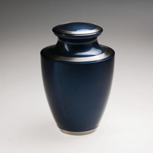 Moonlight Blue Vase Urn