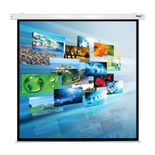 "HamiltonBuhl 119"" Diag. (84x84) Electric Projector Screen, Square Format, Matte White Fabric"