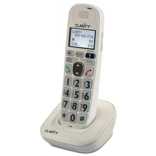 Expansion Handset for Clarity D700 Series - Model D704HS - Compatible with D704, D714, D724 Telephones