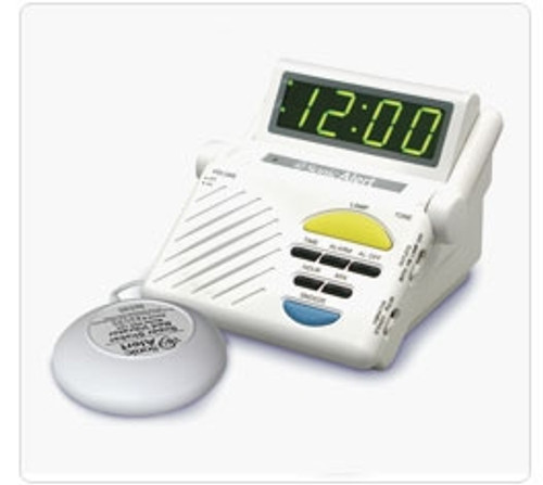 Sonic Alert SB1000SS Classic Alarm Clock with Bed Shaker