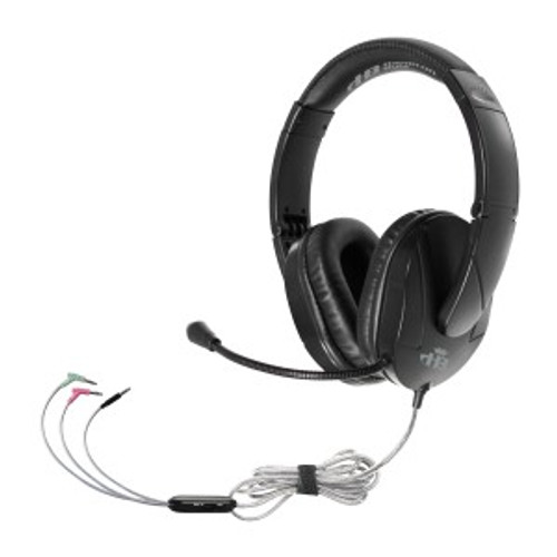 HamiltonBuhl Trios  Multimedia Headset with Gooseneck Mic - Connect to Any Device!