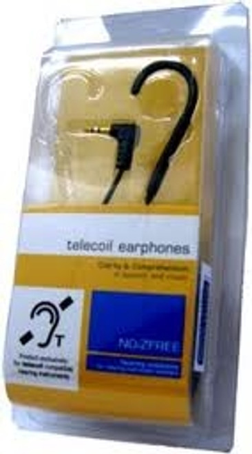 NoiZfree Cell & Music Hearing Aid Coupler - Single Earhook