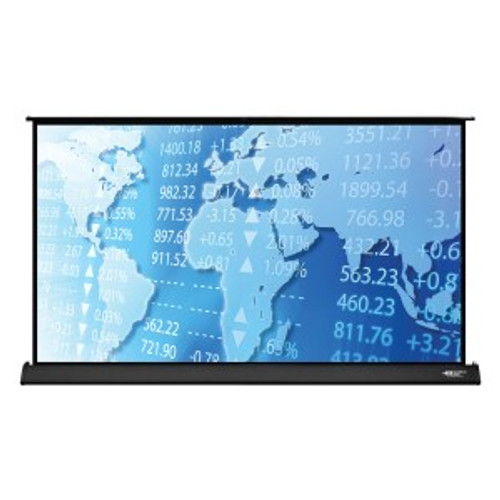 "HamiltonBuhl 50"" Diag. (25x44) Tabletop Projector Screen, HDTV Format, Matte White Fabric"