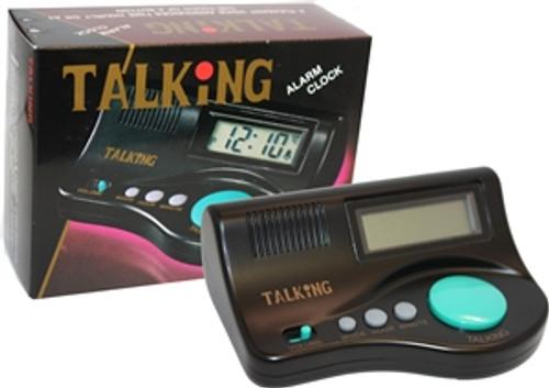 LIBERTY Low Vision Talking Big Button Curve Alarm Clock