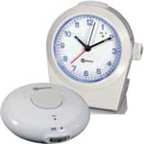 Amplicom TCL100 Analog alarm clock with wrls bed shaker