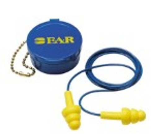 E-A-R Ultra Fit Earplugs - Corded (with carrying case)