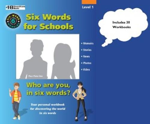 Six-Word Memoirs Parent Kit - 2 Workbooks with Parent / Teacher Guide