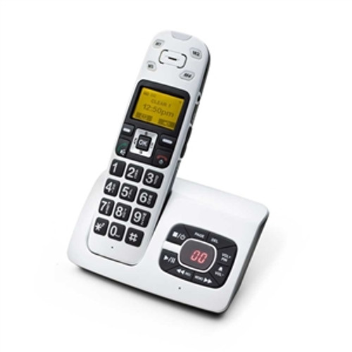 Amplified Cordless Telephone with Answering Machine for Mild to Moderate Hearing Loss - ClearSounds Model A500