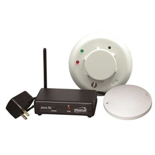 Shake-Up Smoke Detector with Bed Shaker