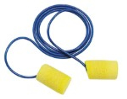 E-A-R Classic Foam Earplugs - Corded, Standard Size (200 pairs)