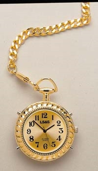 Gold Color Talking Pocket Watch