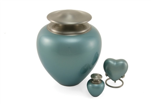 Hand Crafted Brass Satori Memorial Urn
