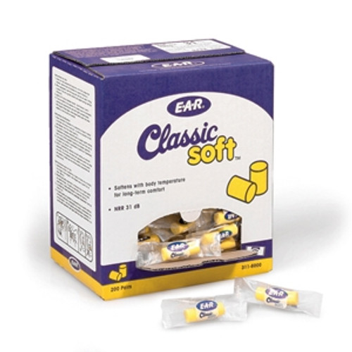 "E-A-R Classic ""SOFT"" Disposable Ear Plugs (5 pair)"