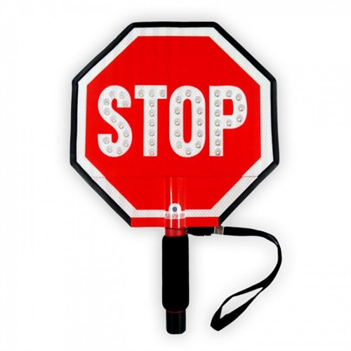 "12"" STOP-LITE LED STOP SIGN"