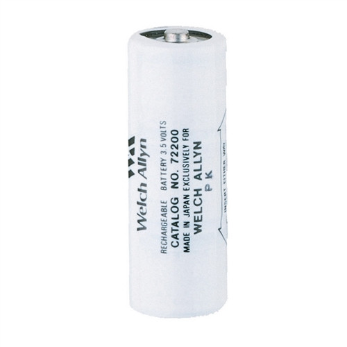Welch Allyn 3.5V NiCad Rechargeable Battery (coded black)
