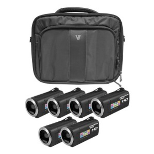 HamiltonBuhl HD Camcorder Explorer Kit with 6 Cameras, Software and Case