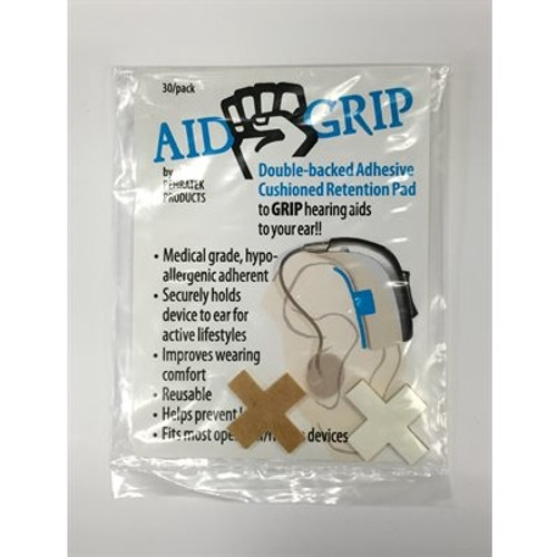 AID-GRIP CUSHIONED RETENTION PADS SAMPLE PACK (2 / PK)