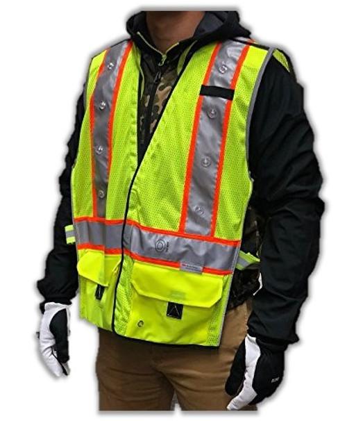 Rechargeable LED Vest