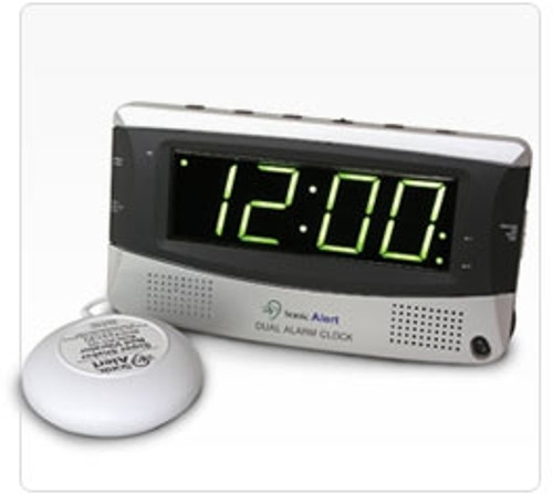 Sonic Alert SBD375SS 2-Alarm Alarm Clock with Bed Shaker