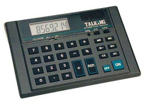 8 Digit Talking Calculator