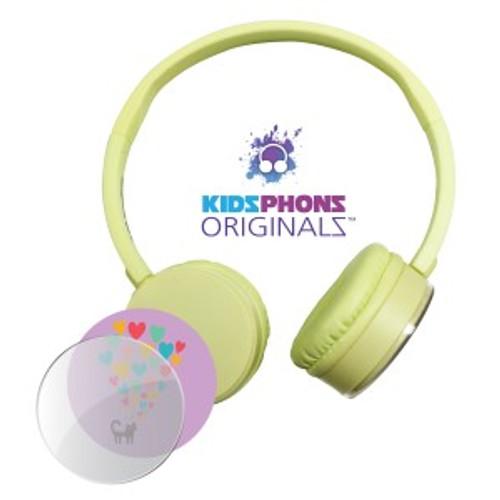 KidzPhonz Originalz Headphone - Yellow