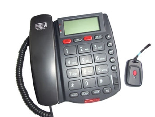 SOS Emergency Amplified Phone with Remote Answering