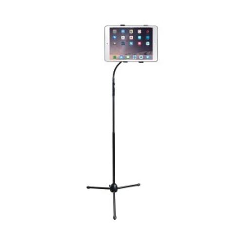 HamiltonBuhl Tablet Floor Stand, Gooseneck, Height Adjustable