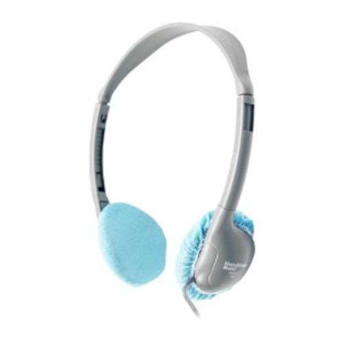 "HamiltonBuhl Disposable Ear Cushion Covers, Blue, 2.5"" Personal,  50 Pair"
