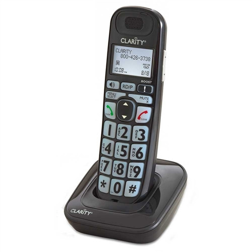 Expansion Handset for Clarity E814 Series Telephones - Clarity Model D703HS