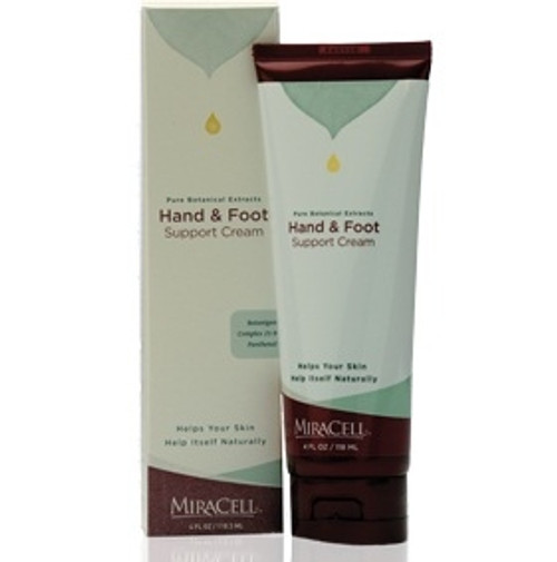 Miracell Hand & Foot Support Cream - 4oz. Tube (Model 25040IB)