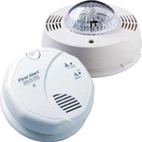 Smoke/CO detector & Strobe Hardwired Kit -Photo Electric