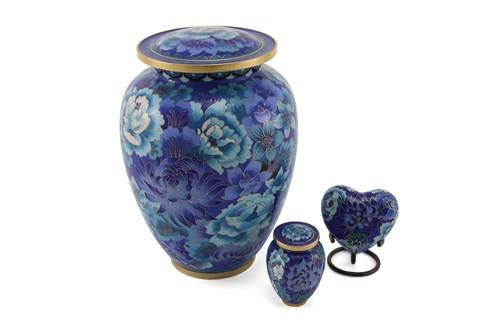 Hand Crafted Cloisonne Elite Memorial Urn