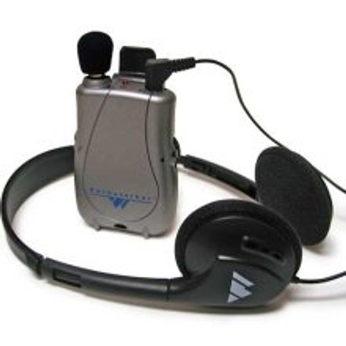 Williams Sound PockeTalker Ultra PKTD1-H21 with Folding Headphones