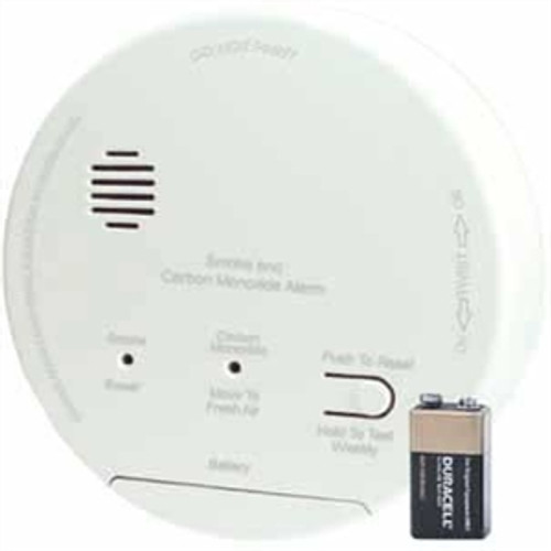 Gentex GN-503FF Hard Wired Smoke-Carbon Monoxide Photoelectric  Alarm with Backup