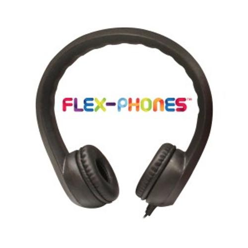 HamiltonBuhl Flex-Phones, Foam Headphones, Black